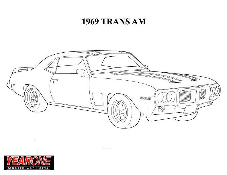 Ford Mustang 1969 3d illusion lamp plan vector file for