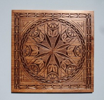 Wall decor plate in Mahogany color by HOLIWOOD on Etsy, $135.00