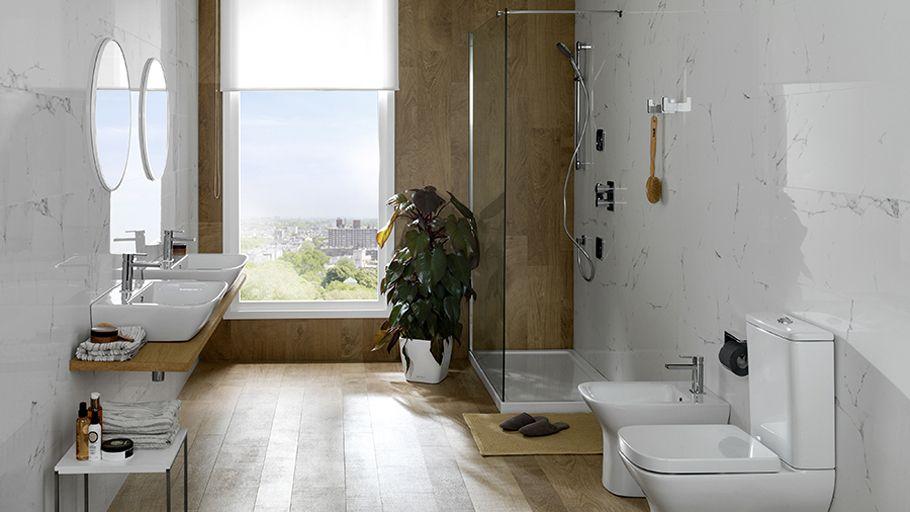 ⇀ #Baños urbanos ↼ Minimalismo y confort en un mismo diseño de interior @NokenDesign
