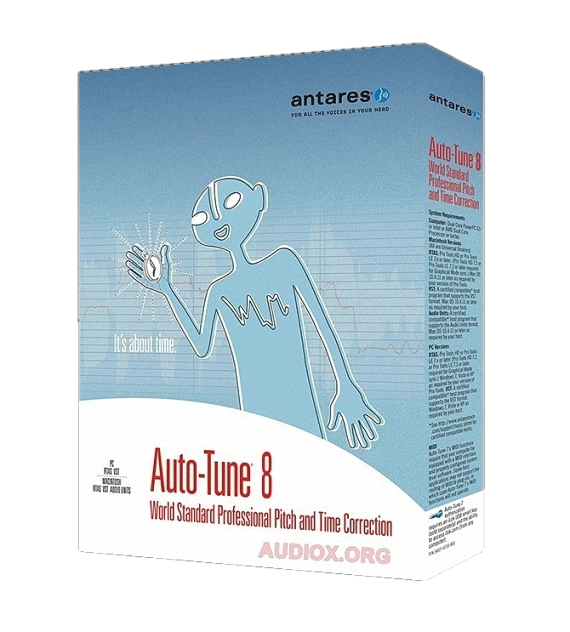 Antares AutoTune 8 VST VST3 Full Version (Windows
