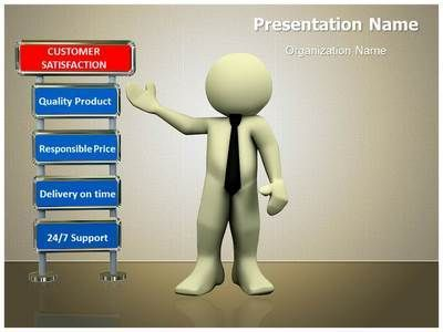 Customer Satisfaction Powerpoint Template is one of the best - best of certificate templates for powerpoint