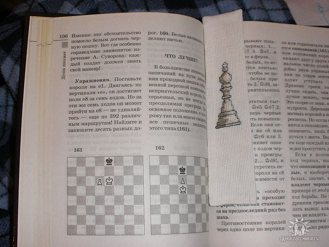 #crossStitched #bookmark #chess