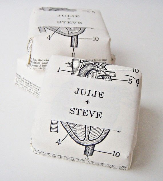 Wedding Favor Collage Soaps  twenty four bars  your by sweetpetula, $84.00