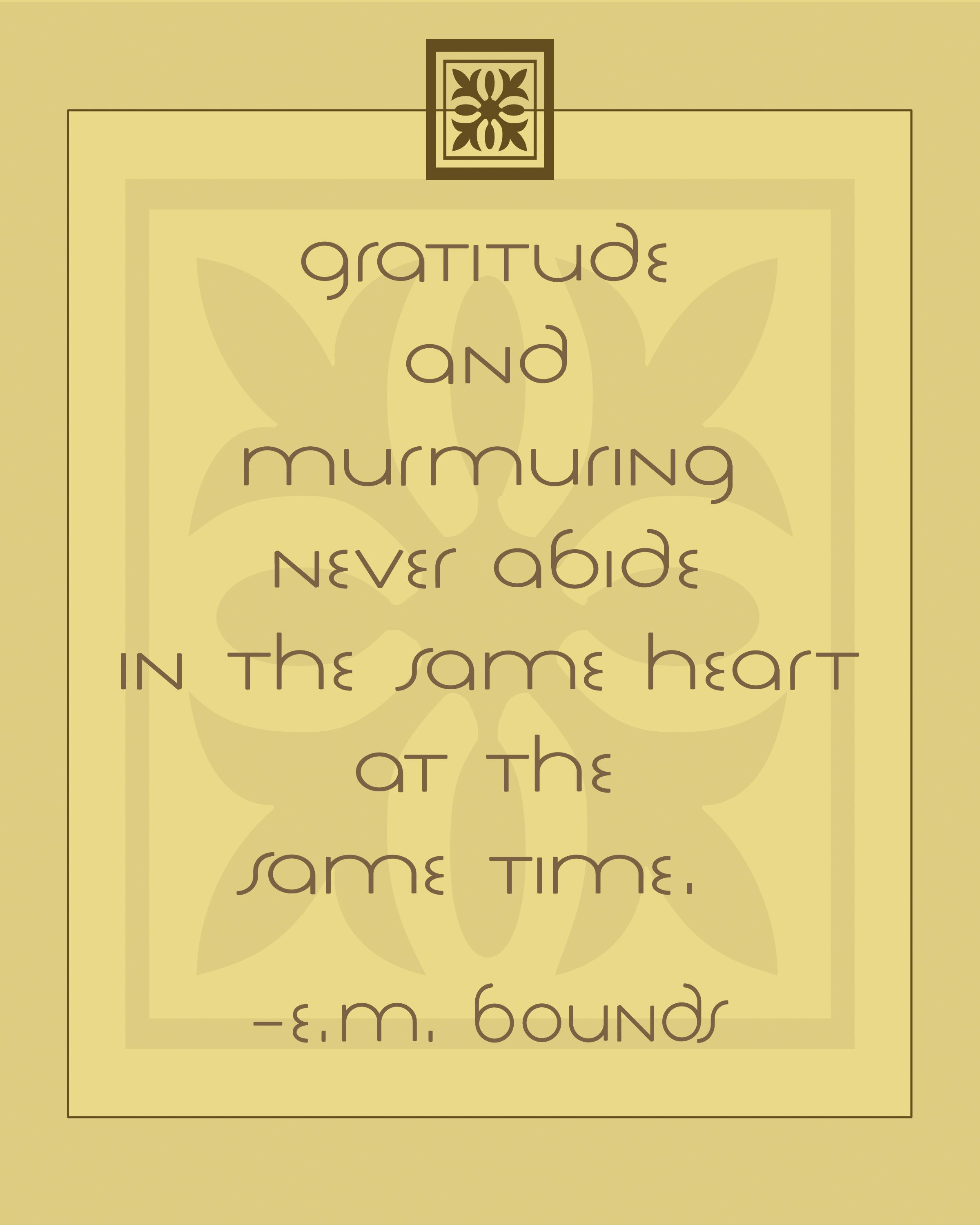 Deep Thanksgiving Quotes: Gratitude And Murmuring + Free Printables