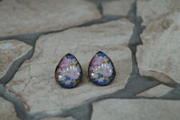 """Ohrhänger - Ohrstecker """"Blumenwunder"""" - ein Designerstück von MarLinas-Blickfaenge bei DaWanda"""