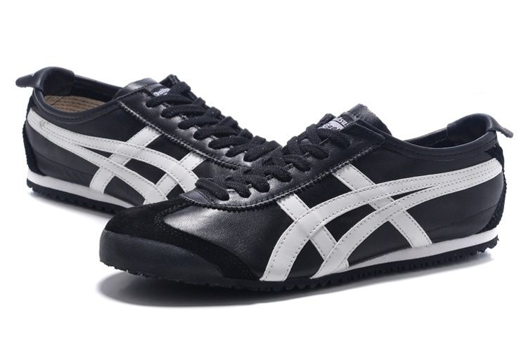 watch e7056 26bec Black/ White) Onitsuka Tiger Mexico 66 DL408-9001 New Shoes ...