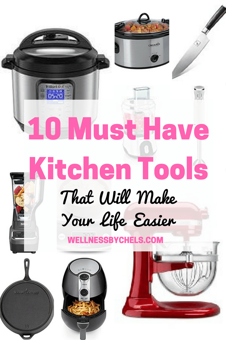 10 Essential Kitchen Cooking Tools to Make Your Life Easier   10 ...