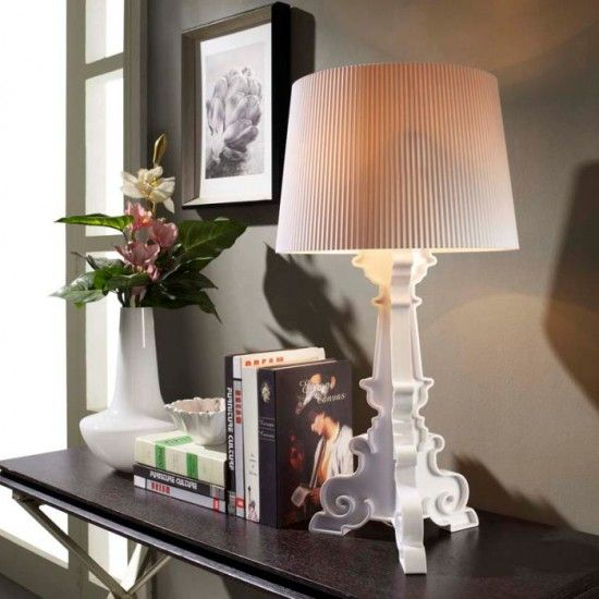 Bourgie Lamp Kartell | Lighting | Pinterest | Table Lamp, White ...