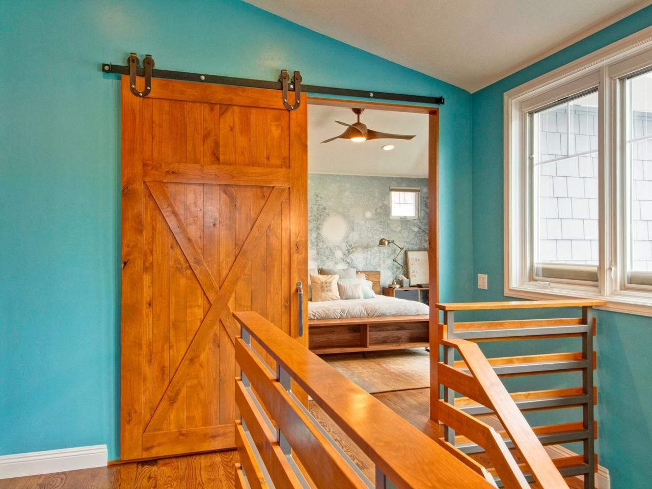 This Second Story Bedroom S Outstanding Feature Is It S