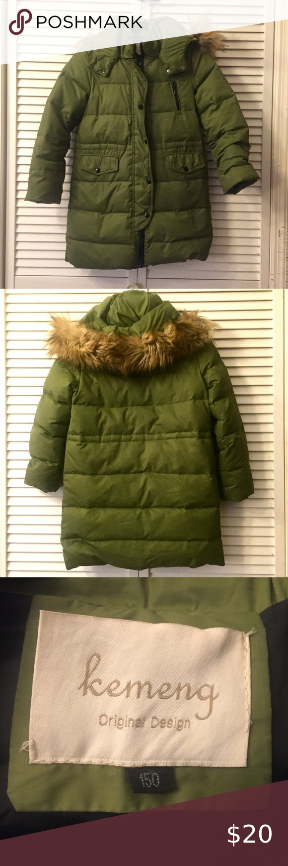 10 11 Girl Winter Green Down Long Puffer Jacket Long Puffer Long Puffer Jacket Puffer Jackets [ 1740 x 580 Pixel ]