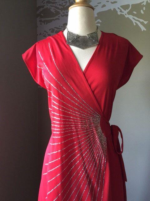 1970 S Disco Warp Dress From My Etsy Https Www