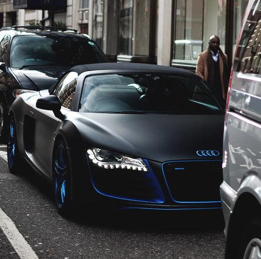 Audi r8 with blue chrome accents legacy 2017 custom pinterest audi r8 with blue chrome accents fandeluxe Image collections