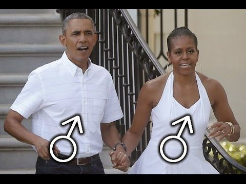 Obama wife is a man
