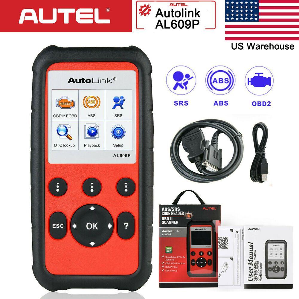 eBay Advertisement) Autel AL609P OBD2 Fault Code Reader Diagnostic
