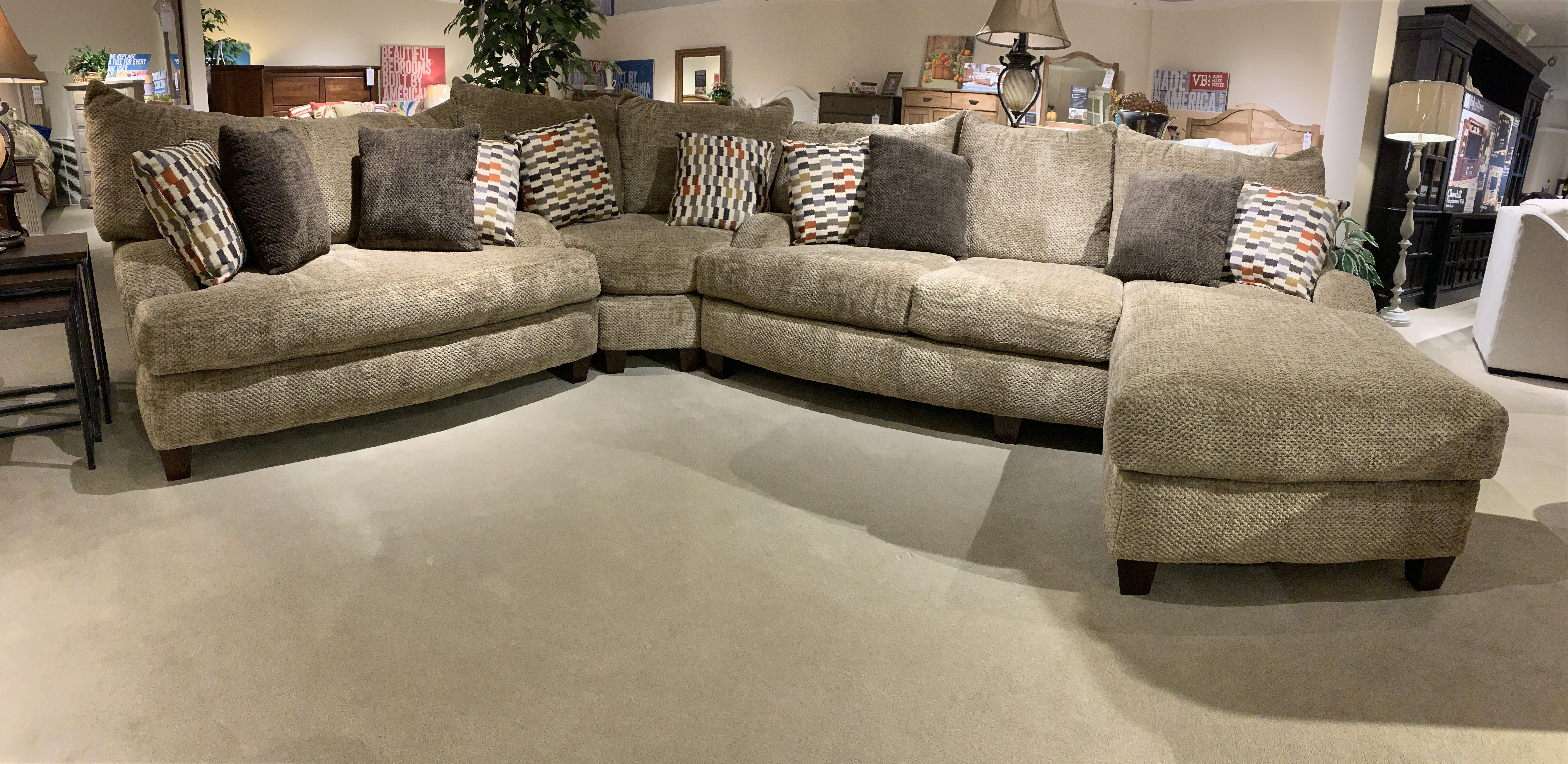 Refresh Your Living Room With Your Choice Of Pieces From The Catalina Collection By England The So Brick Living Room Trendy Living Rooms Living Room Sectional