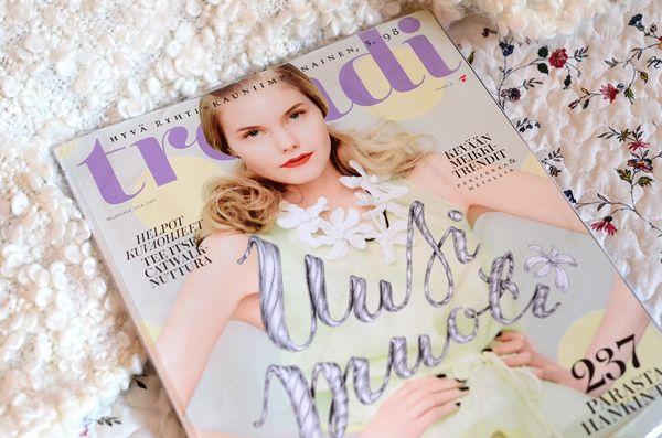 magazine cover--Trendi