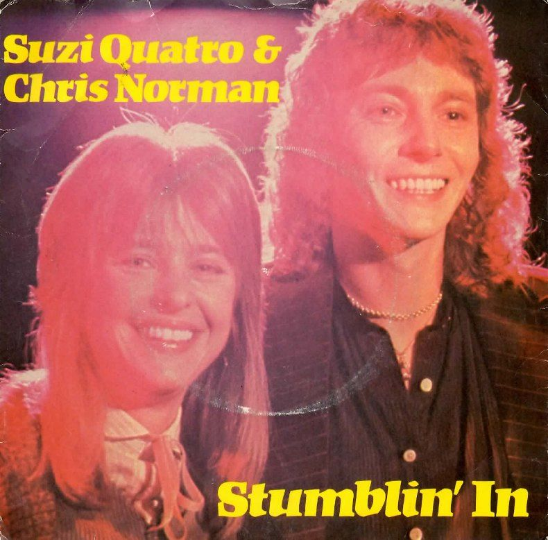 Suzi Quatro Chris Norman Stumblin In Female Rock Stars Women Of Rock Music Legends