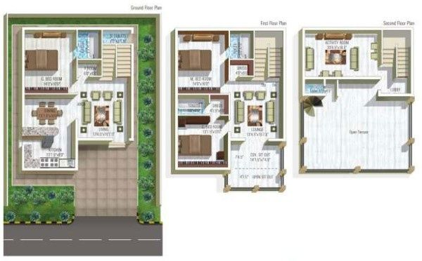 House plan modern family