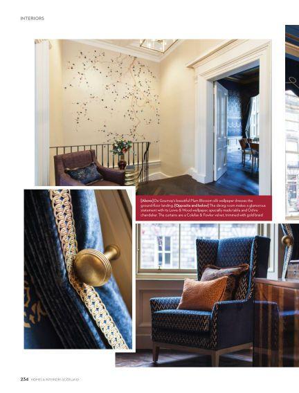 Homes  interiors scotland january also decor rh in pinterest