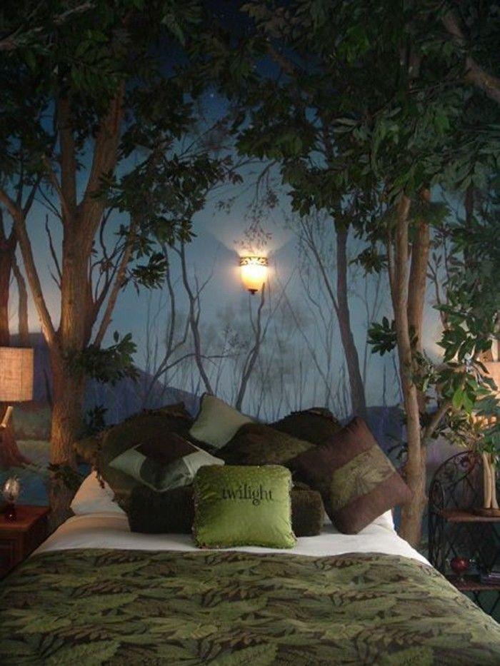 Photo of 44 bellissime decalcomanie da muro per la camera da letto – Archzine.net