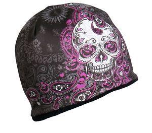 senoras azucar calavera gorro tejido sombrero gorra motocicleta para mujer  goth paisley biker rosa - Categoria  Avisos Clasificados Gratis Estado del  ... c1550ecbc42