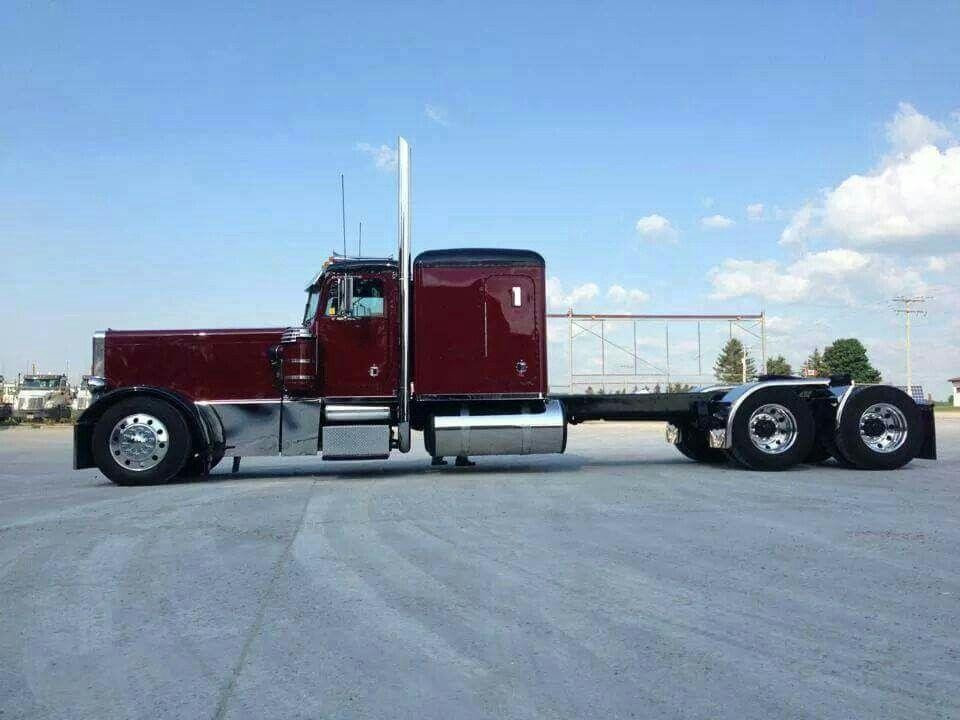 Semi Truck Hoods : Long nose pete old trucks pinterest biggest truck