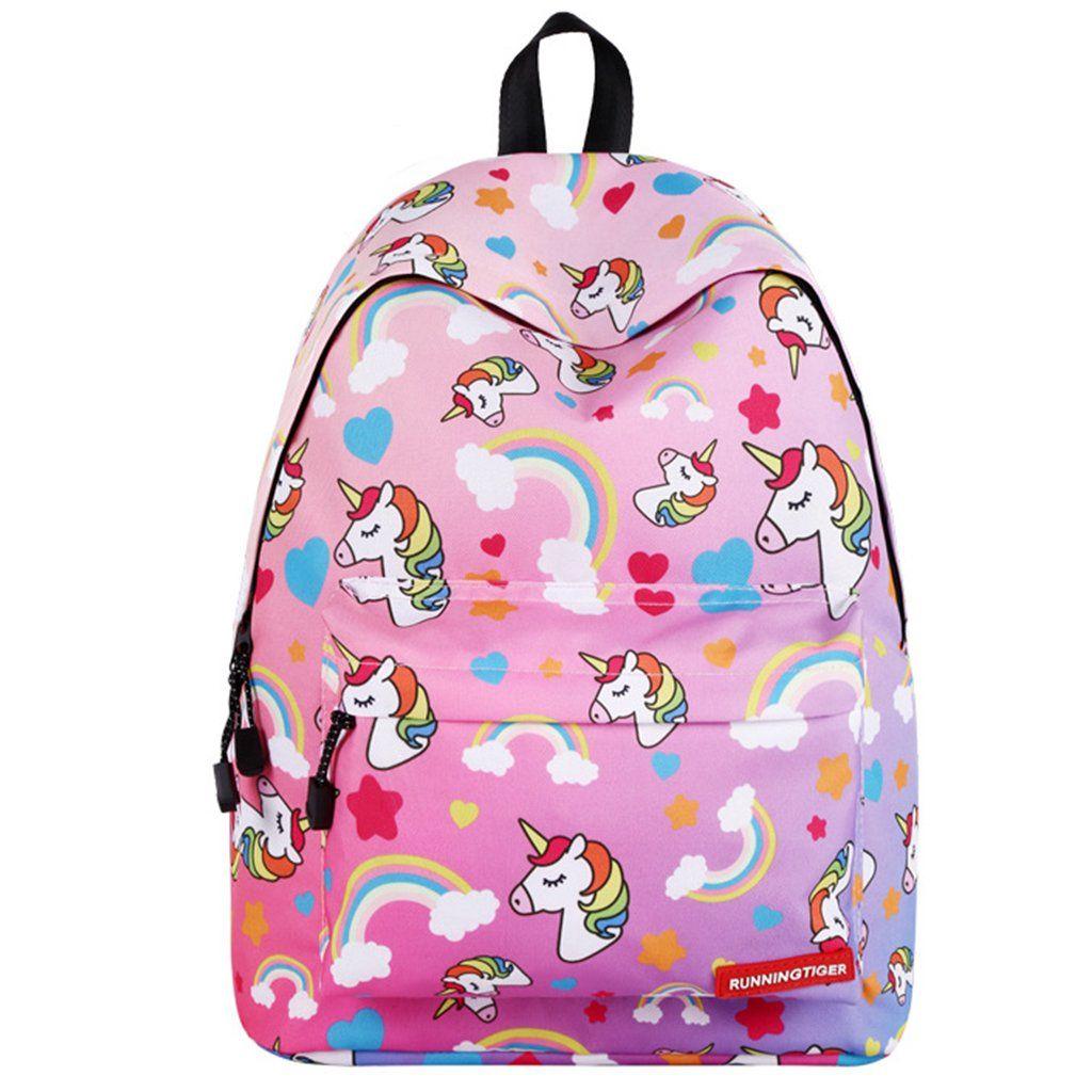Mochila Para La Escuela Unicornio