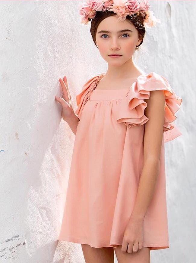 Kids chocolate, marca de moda infantil especial vestidos para niña ...