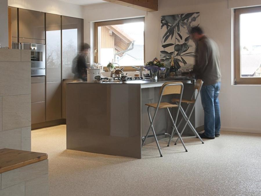 Steinteppich Verlegen Steinteppich Im Wohnbereich I Steinteppich