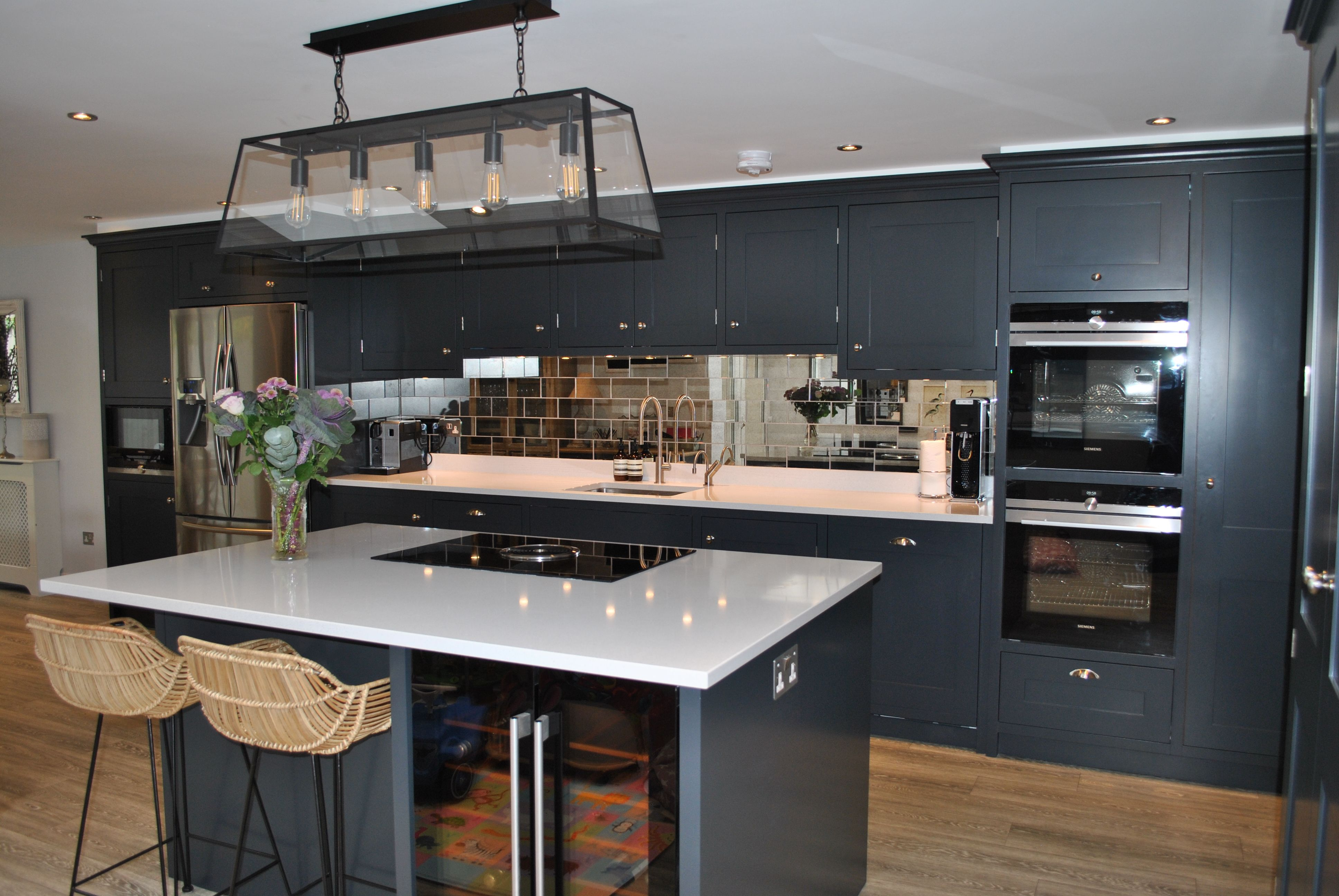 Clapham Shaker Kitchen: This Beautiful London Shaker Is Painted In A Stunning Dark