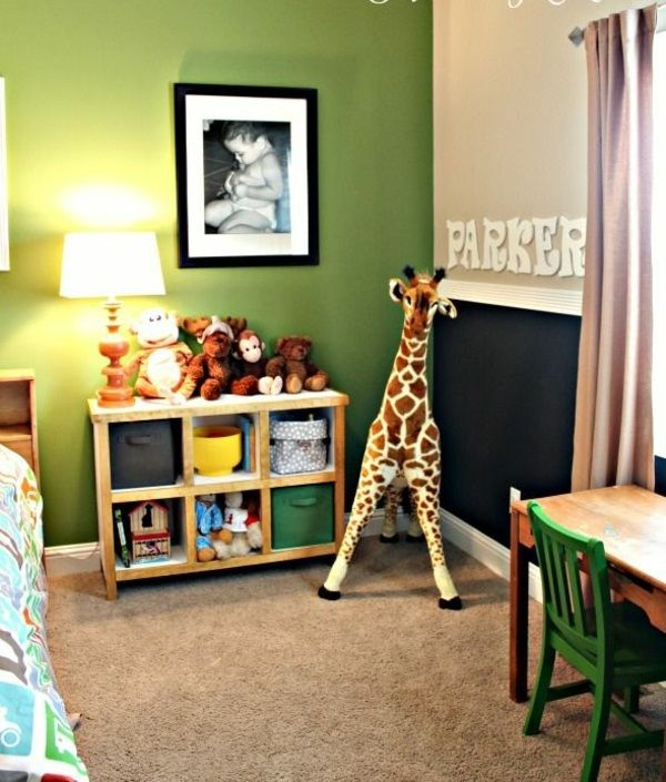 1001 frische ideen f r wandfarbe in gr n farbtrend 2017 kinderzimmer pinterest. Black Bedroom Furniture Sets. Home Design Ideas