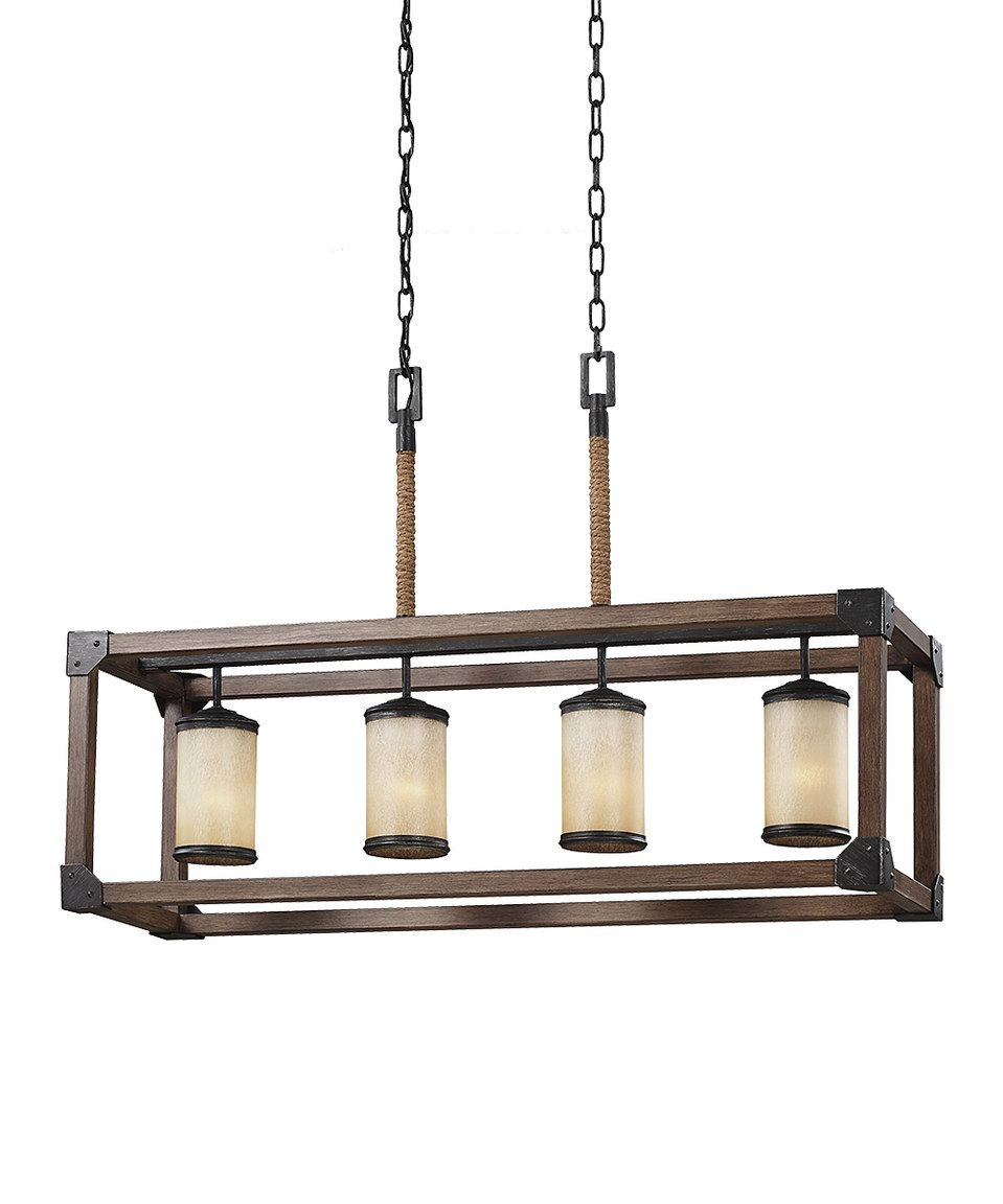 Another Great Find On Zulily Four Light Hanging Pendant By