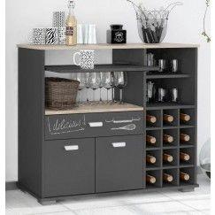 Mueble Microondas Y Botellero Bakery Muebles De Cocina