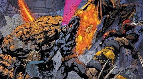 X Men Vs Fantastic Four Fantastic Four Movie Fantastic Four Marvel Comics Wallpaper