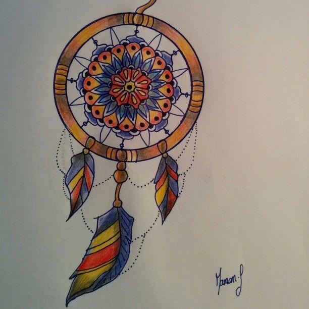 attrape rêves mandala psyché tatouages pinterest psyché