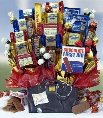 Doctor's Orders Chocolate Gift Basket - http://mygourmetgifts.com ...
