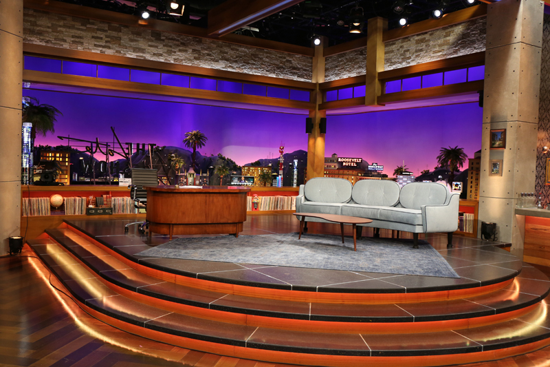 Here's Your Photo Tour of the Late Late Show's New Set