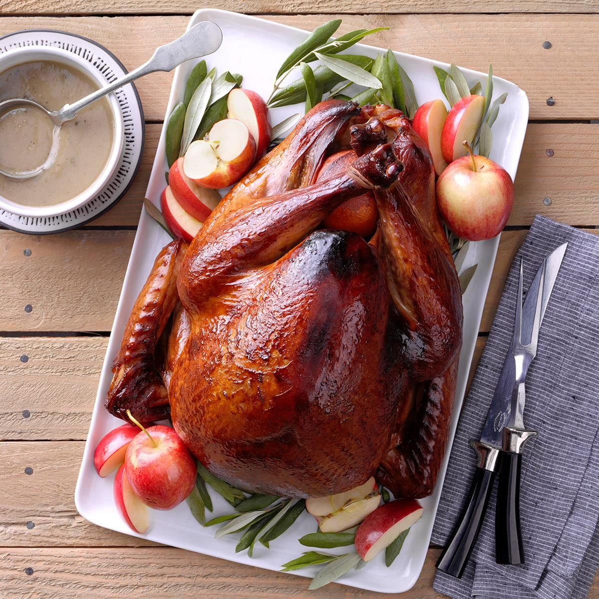 Photo of Grilled Apple-Brined Turkey
