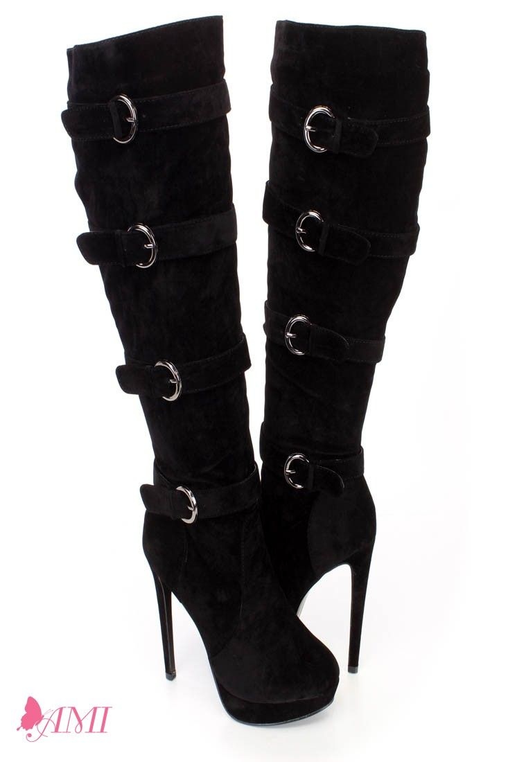f96528872eb These sexy faux leather high heel boots features a thigh high design