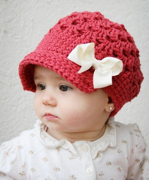 süßer Baby Hut näher | Crochet | Pinterest | Capuchas, Gorros y Tejido