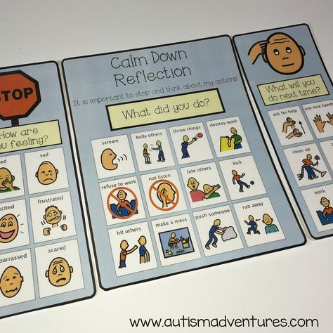 Autism Behaviors Do They Reflect >> Calm Down Kits In The Classroom Student Support Center Calm Down