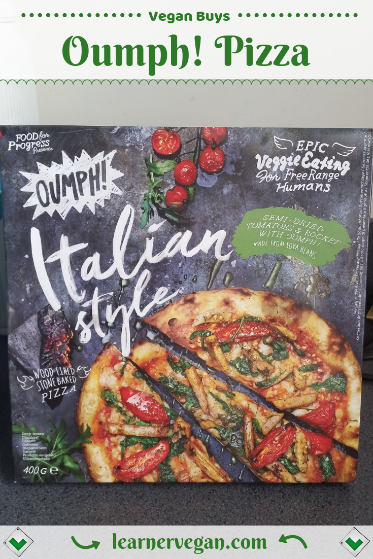 Oumph Italian Style Pizza Available In Tesco Oumph Is A