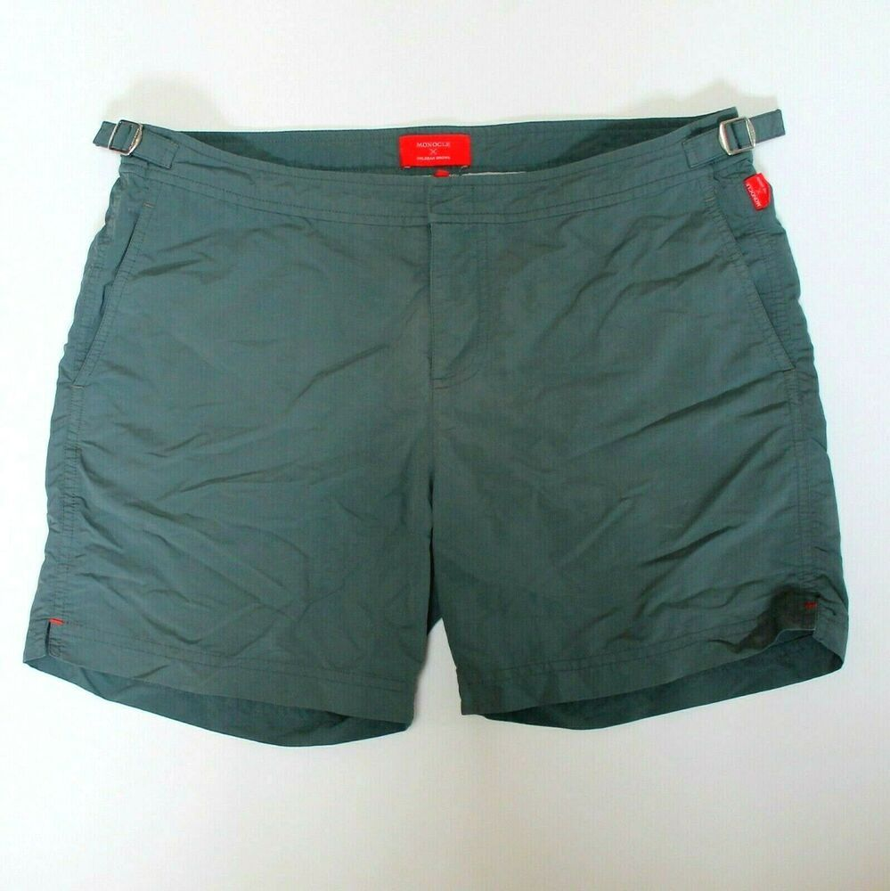 e45cafe847 Orlebar Brown Monocle Gray Swim Trunks Shorts 36 #OrlebarBrown #Trunks
