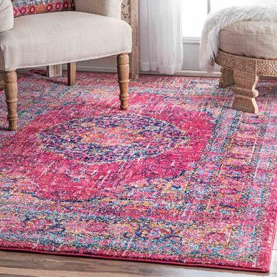 Parker Fuchsia Area Rug Area rugs, Rugs, Traditional