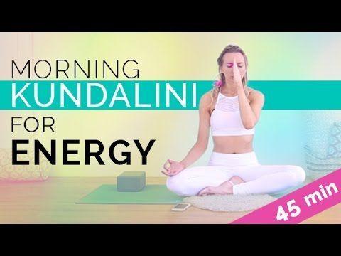easy morning kundalini yoga  meditation for energy