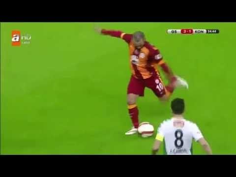 Galatasaray 4 1 Konyaspor Genis Ozeti Ve Golleri Turkiye Kupasi 12 Subat 2015