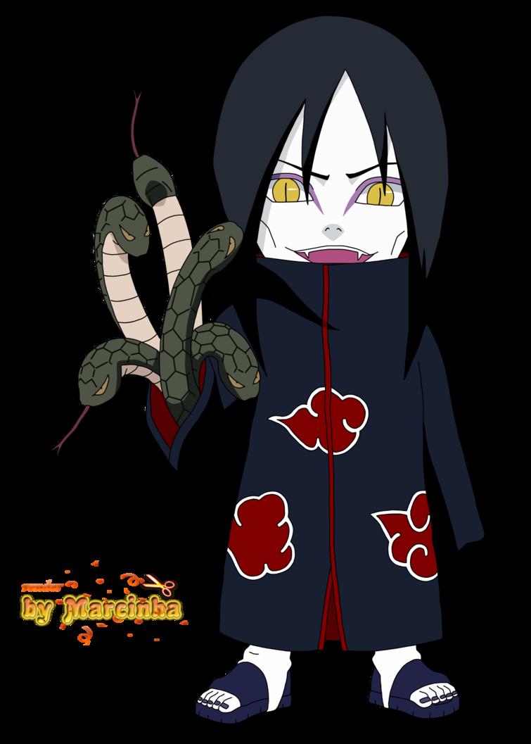 Render Chibi Orochimaru By Marcinha20 On Deviantart Anime Chibi Chibi Naruto Cute