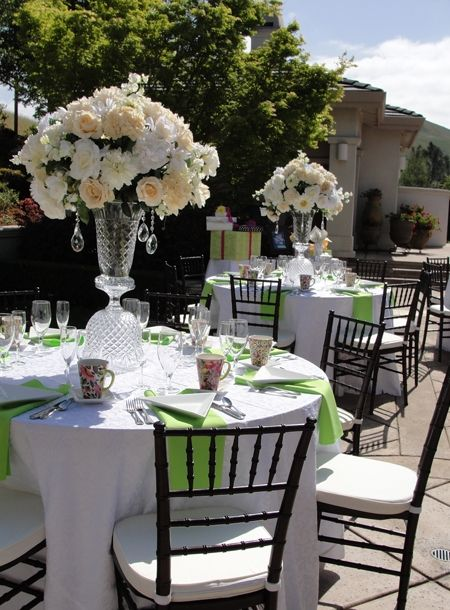 black & white wedding reception   wedding reception decoration 3
