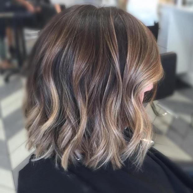 Light Brown Short Hairstyles Hair Styles Balayage Hair Short Hair Balayage