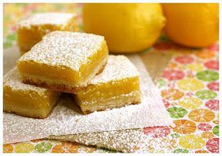 Paula Deen's Lemon Bars @Jolene Klassen Klassen Maley @Janae Krell Krell Jenkins